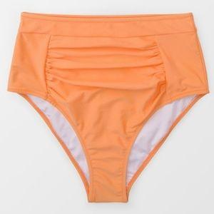 faf2f6d93f3 Cupshe Swim | Nwt Floral Orange Crush High Waist Bikini | Poshmark